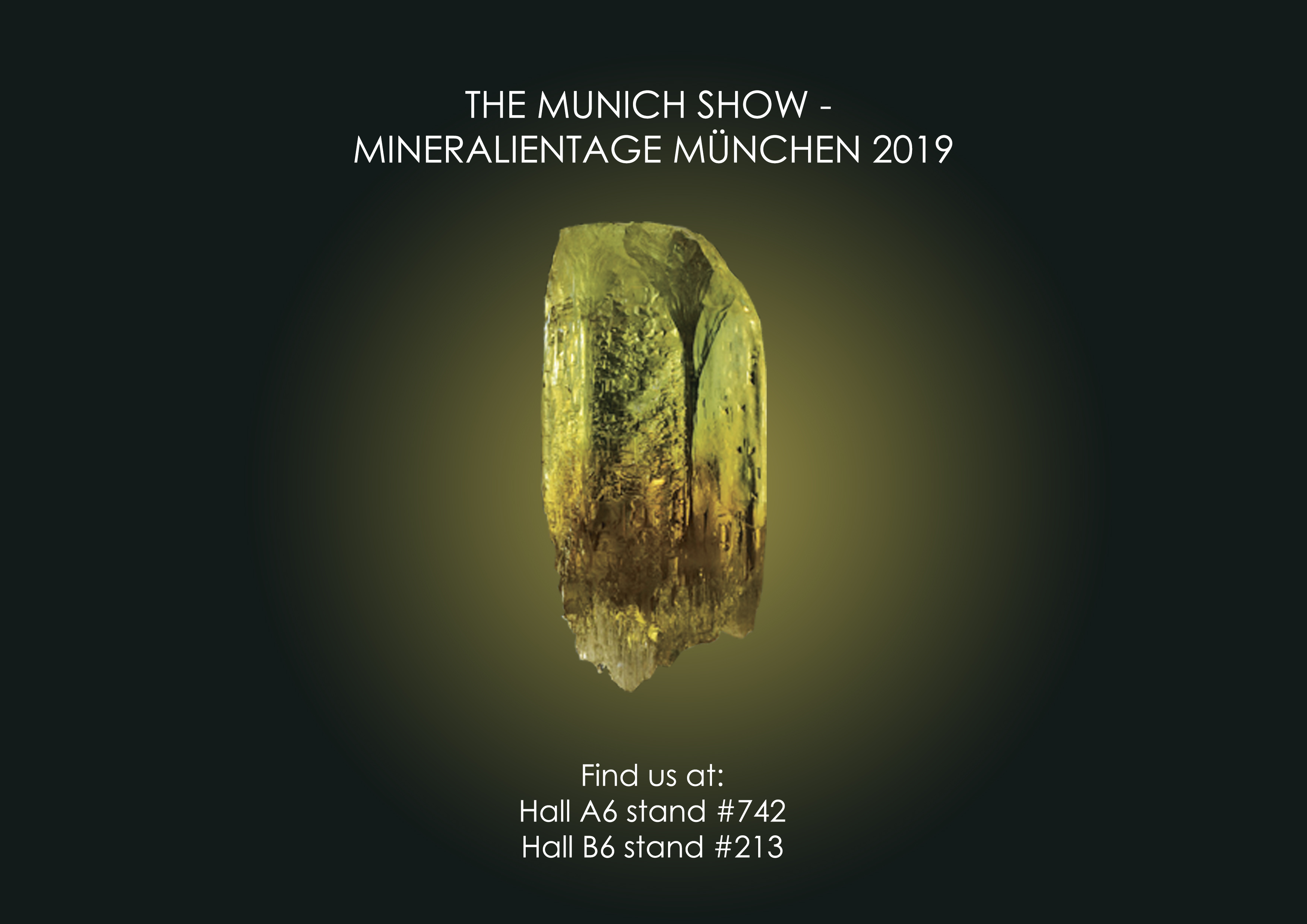 VolynGems products will be presented at the Munich Show 2019