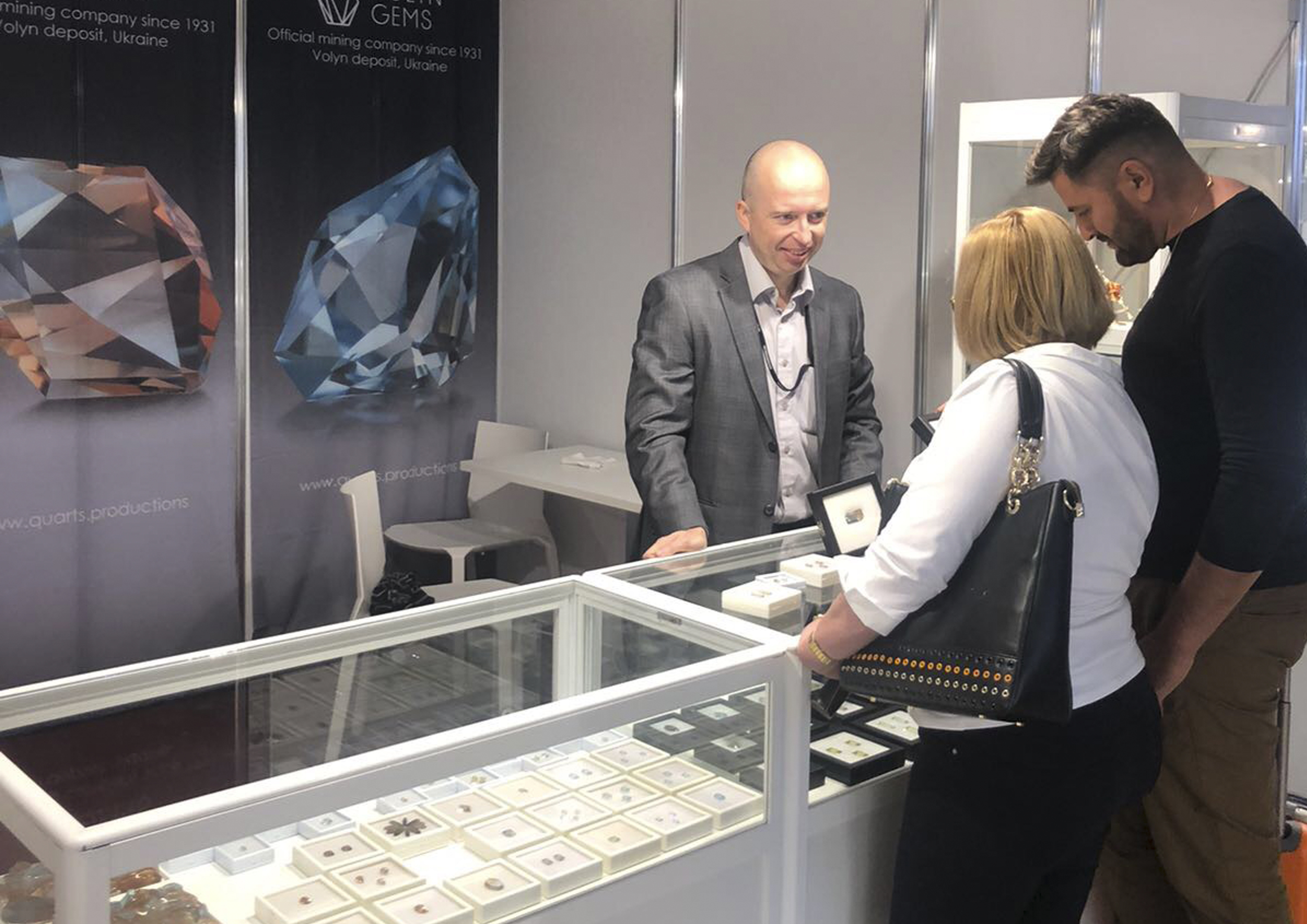 There are some results of the participation in The Munich Show - Mineralientage München