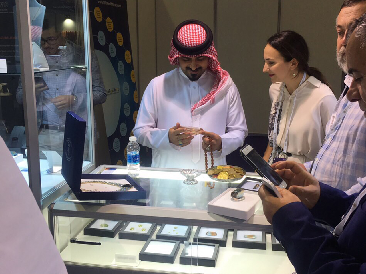For the first time, QUARTS SAMOCVETI took part in the Jewellery Arabia 2018 exhibition in the Kingdom of Bahrain.