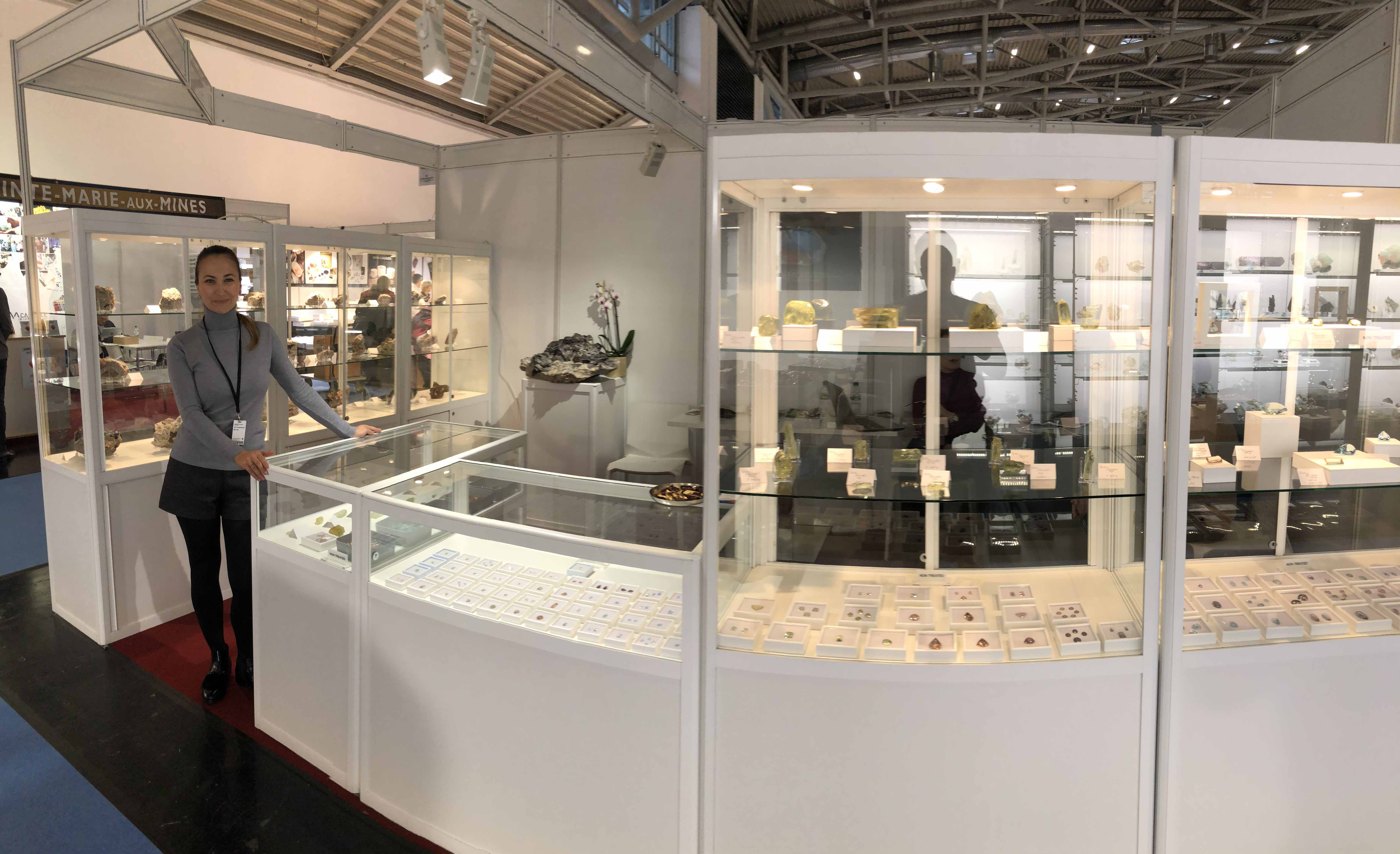 QUARTS SAMOCVETI has exhibited its products at the Munich Mineral Show.